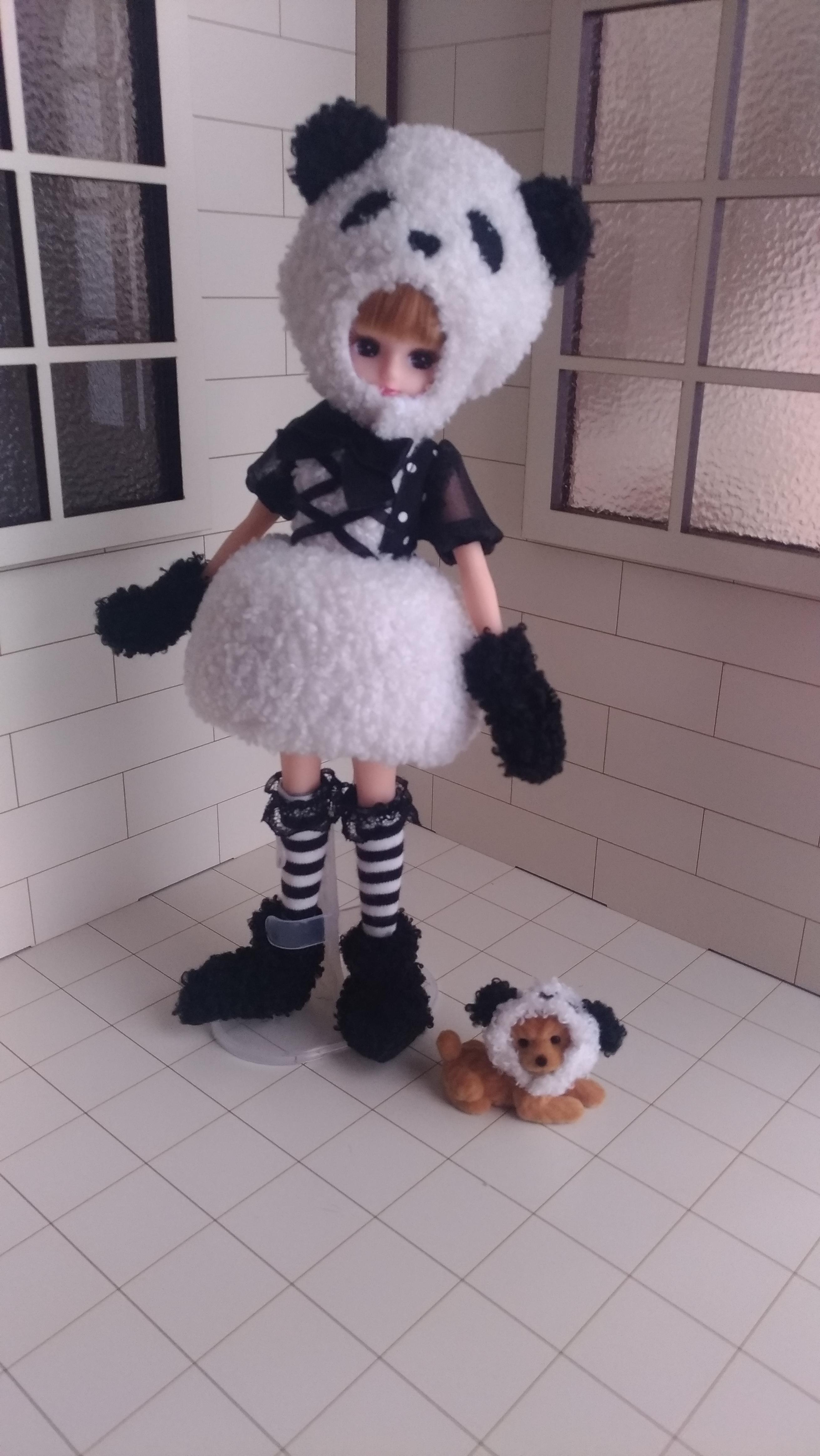 dolls:licca:株主優待リカちゃん(2018)(パンダ)
